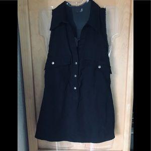 Rock&Republic Sleeveless Button Up